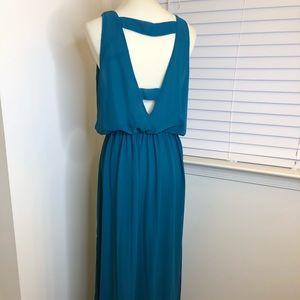 Zara Blue Long Maxi Dress